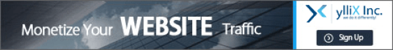 yX Media - Monetize your website traffic with us