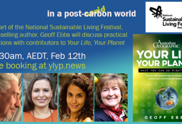 Your Life Your Planet book launch