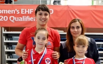 ΕΠΙΤΡΑΠΕΖΙΑ ΑΝΤΙΣΦΑΙΡΙΣΗ: Δυο χάλκινα μετάλλια  στο αναπτυξιακό πρωτάθλημα