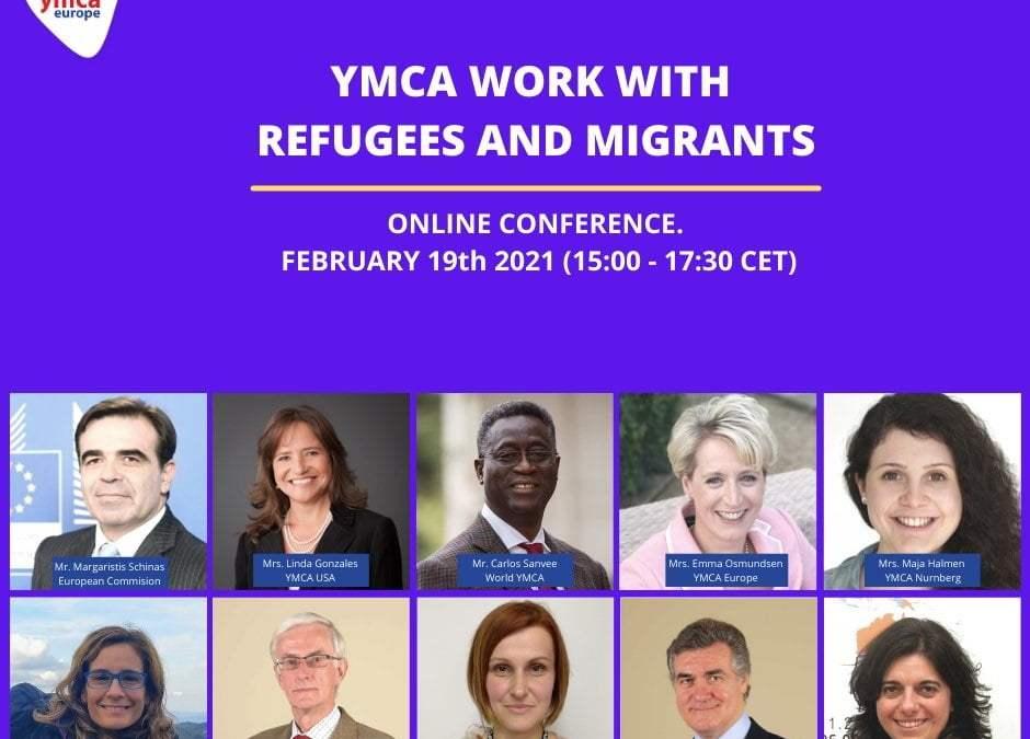 """Διαδικτυακό Συνέδριο: """"YMCA work with Refugees and Migrants"""""""