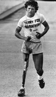 Terry Fox (Source: Associated Press)