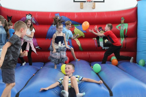 childrens party bouncy castle north devon ymca