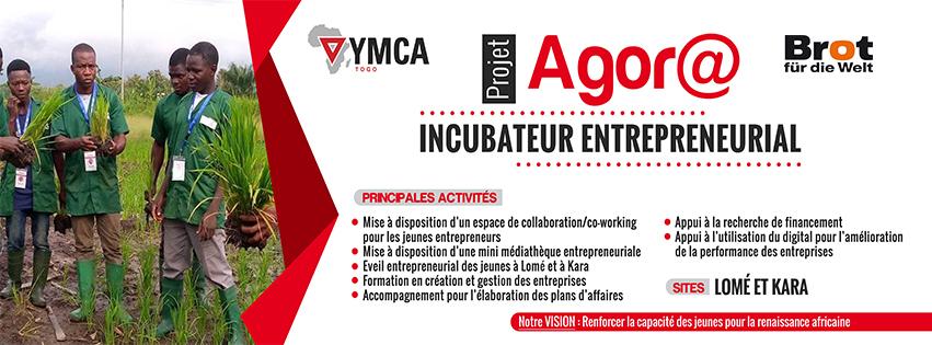Banderole YMCA 3X1-(UCJG)YMCA Togo