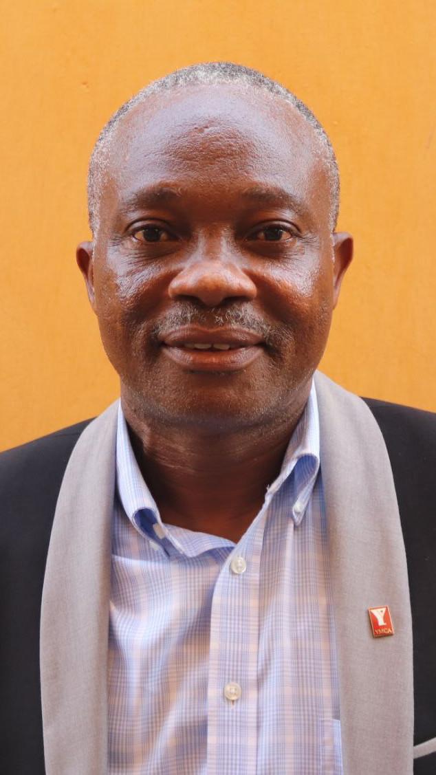 EHO Hubert président national ymcatg-(UCJG)YMCA Togo