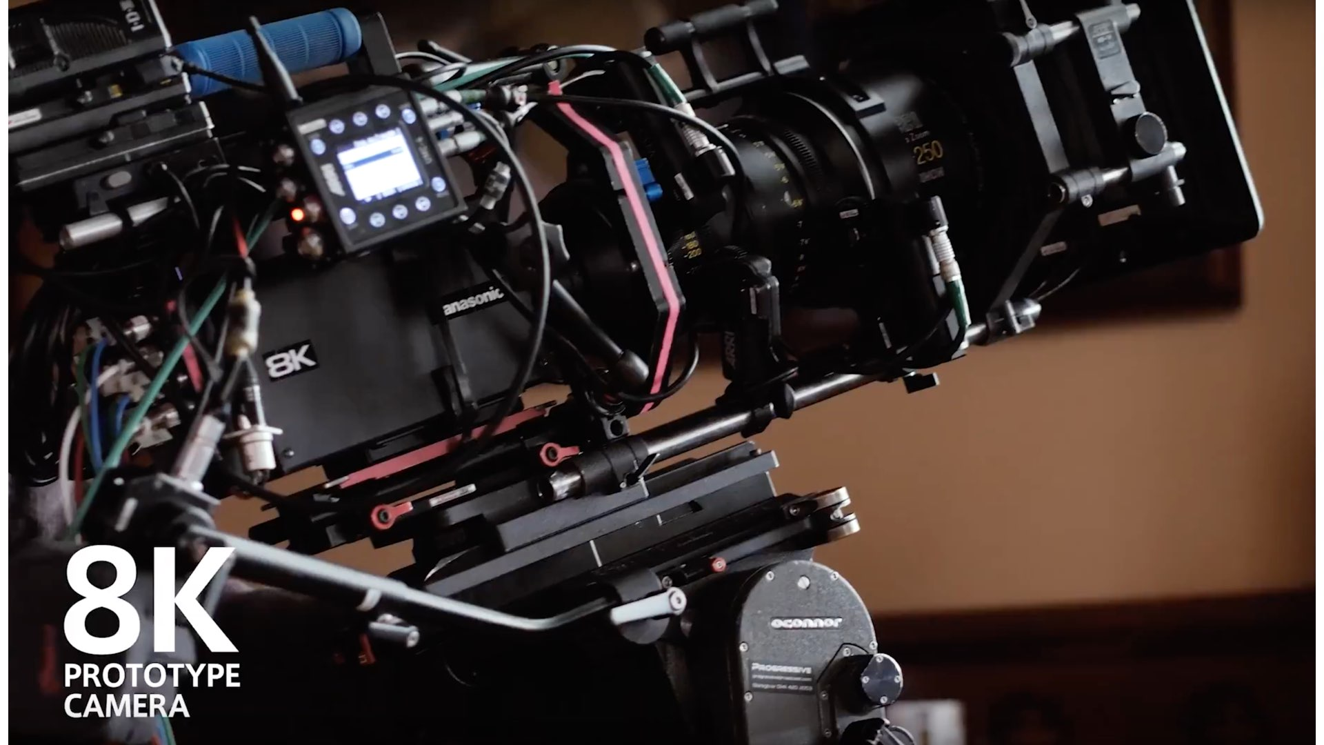 The Panasonic 8K Prototype Camera was Used in Short Film Production