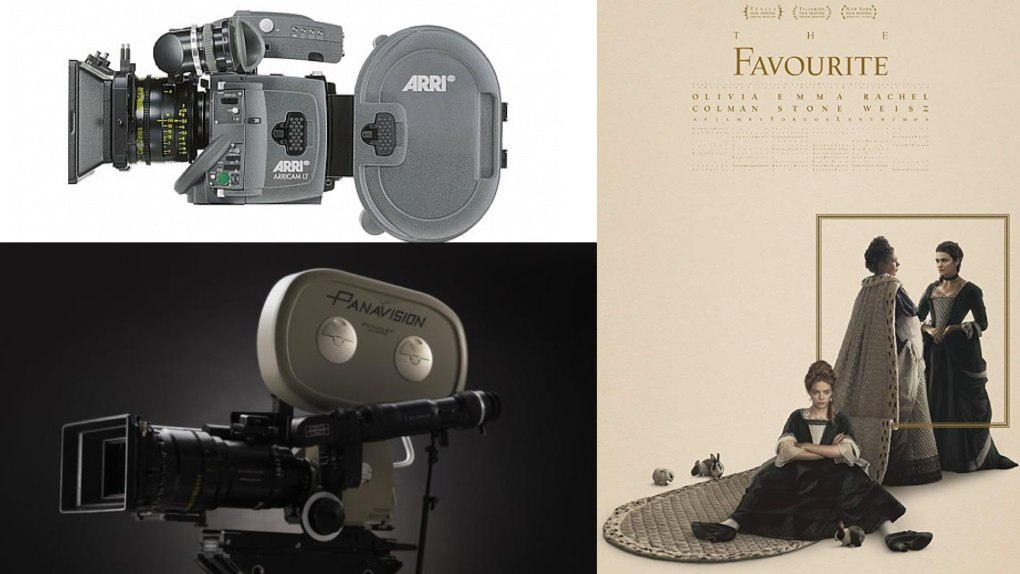 The Favourite - Arricam LT and Panavision Panaflex Millennium XL2