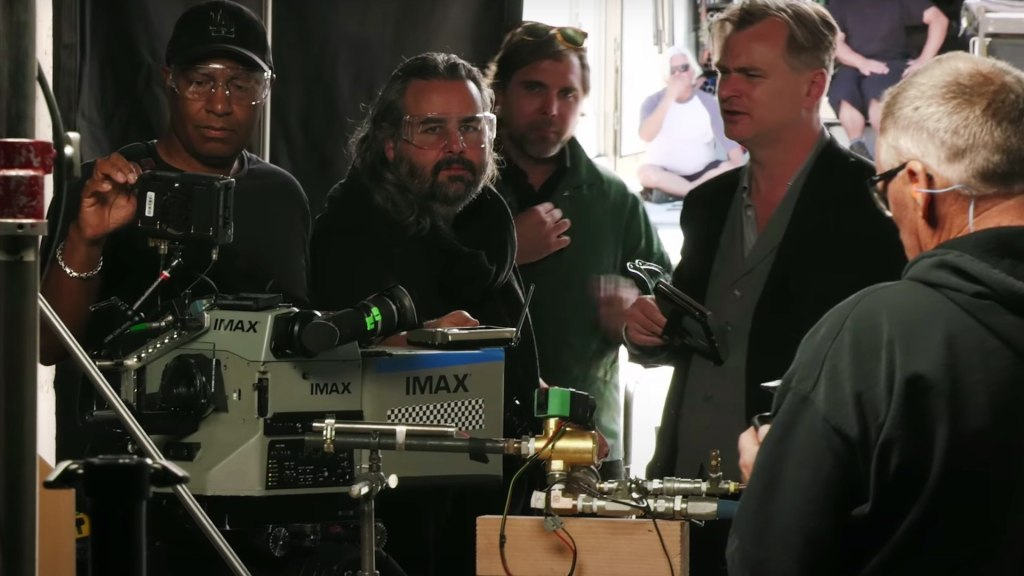 TENET Behind the Scenes Featurette Released: IMAX Cameras Everywhere! -  Y.M.Cinema - News & Insights on Digital Cinema