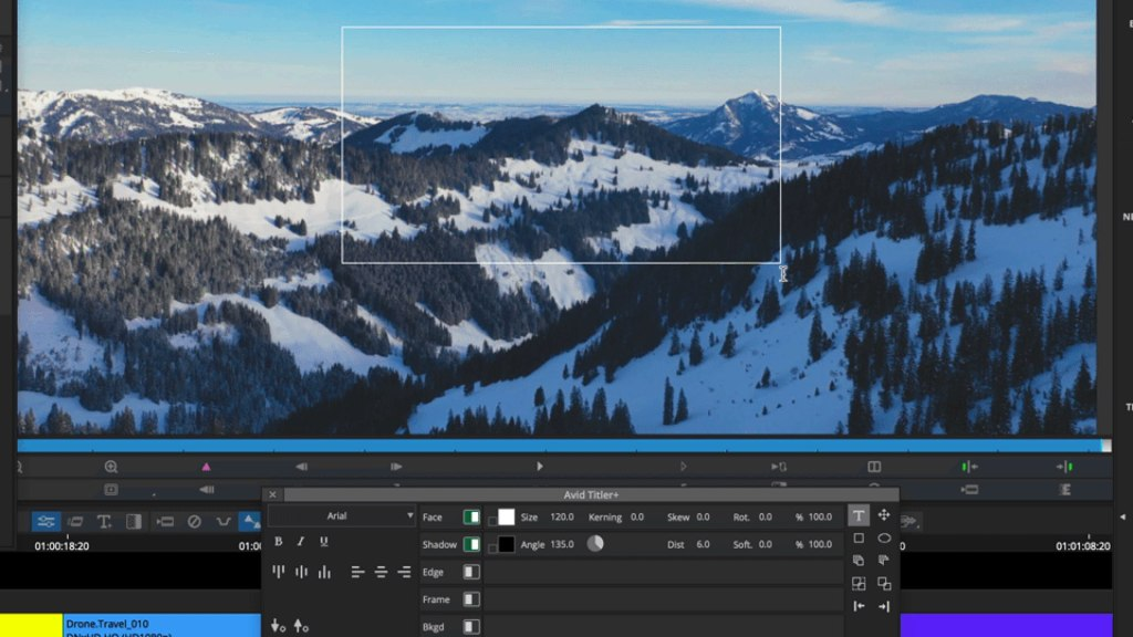 Titler + updates on Avid Media Composer 2021.3. Picture: Avid