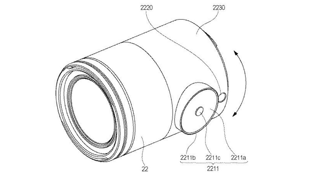 Canon patent: Lens apparatus: Focus by touch