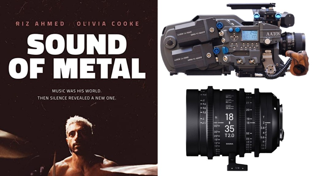 """""""Sound of Metal"""" (Amazon Studios): DP Daniël Bouquet. Cameras: Aaton Penelope. Lenses: Sigma Cine"""