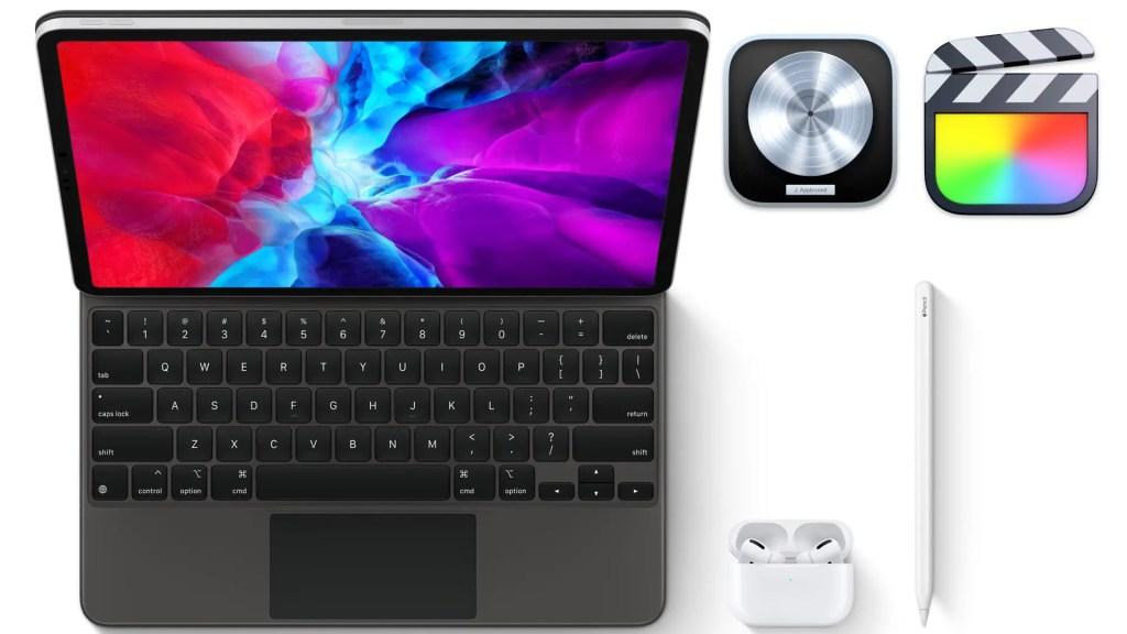 iPad Pro 및 Apple Pro 앱