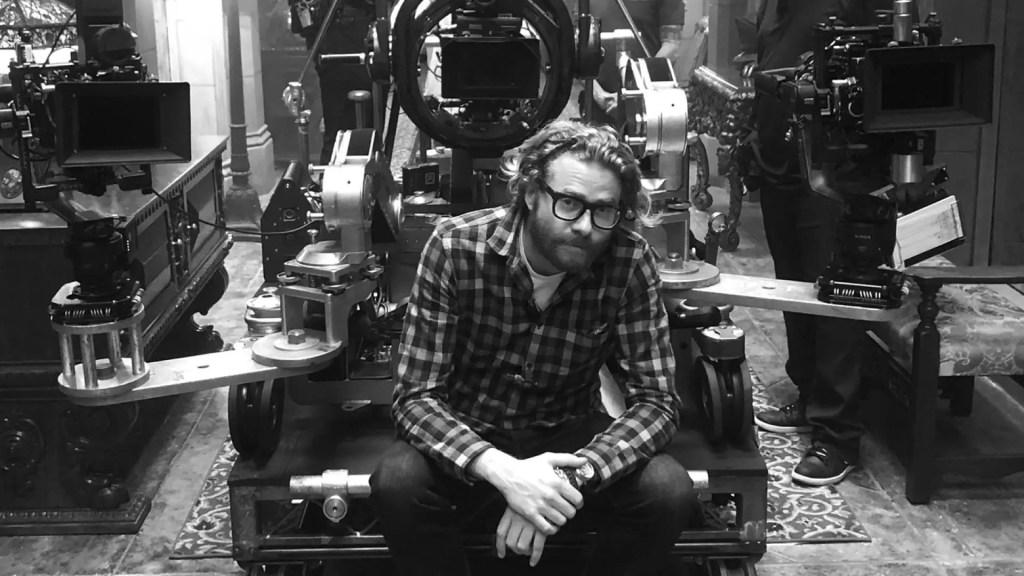 Erik Messerschmidt, ASC on Mank set. Picture: RED Digital Cinema
