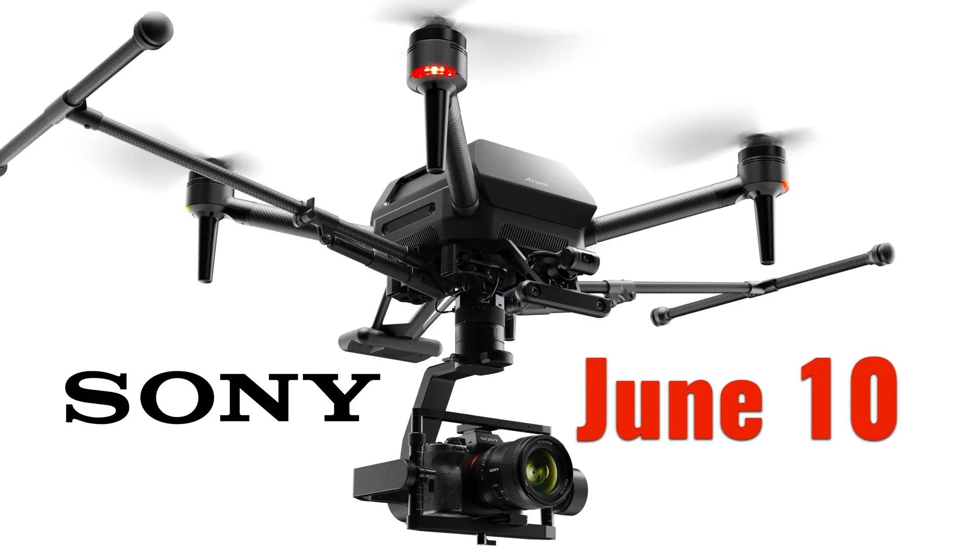 Sony Says Airpeak is Coming on June 10
