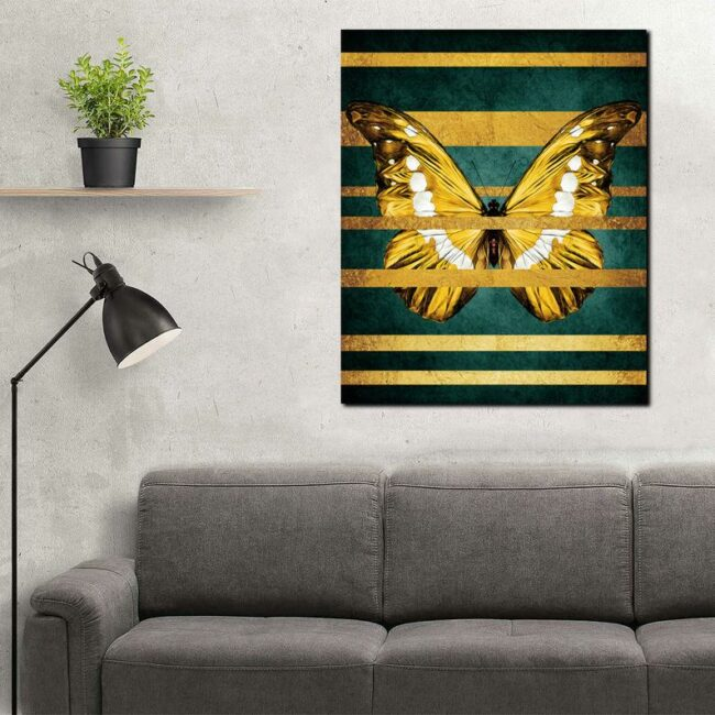 butterfly canvas painting easy, Abstract Butterfly Canvas Print Butterfly Wall Art, Abstract Wall Art Home Decor 2
