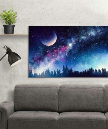 Colourful Night Canvas 5
