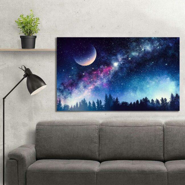 Colourful Night Canvas 3