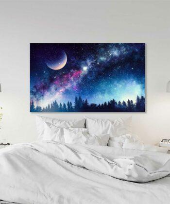 Colourful Night Canvas 4