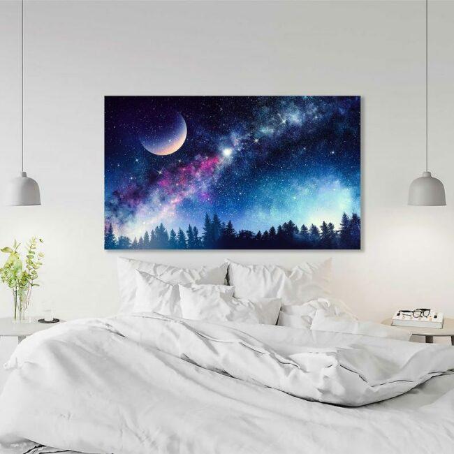 Colourful Night Canvas 2