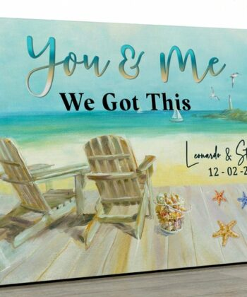 personailized love canvas for wife and husband Love couple canvas art, 5