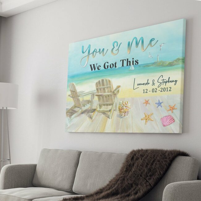 personailized love canvas for wife and husband Love couple canvas art, 1