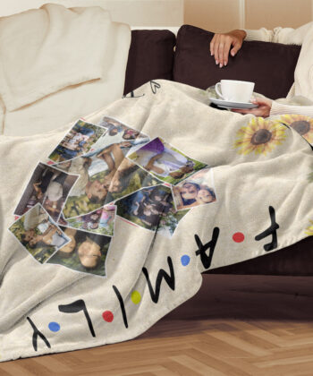family fleece blanket, this is us, our love, our life, our story 6