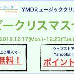 【キャンペーン】ハッピークリスマスセール(2018.12.17~12.25)
