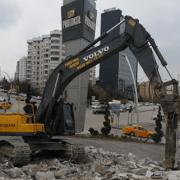 Beyoglu Kanal açma - Kazı ve Yıkım