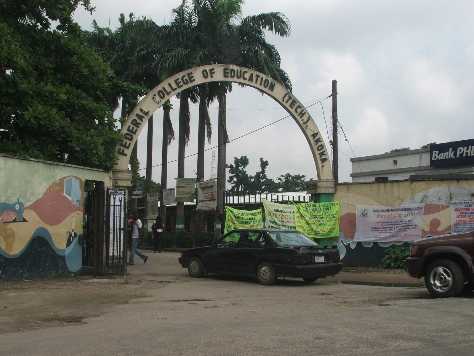 Main Entrance, Federal College of Education Akoka. Photo: The Trent