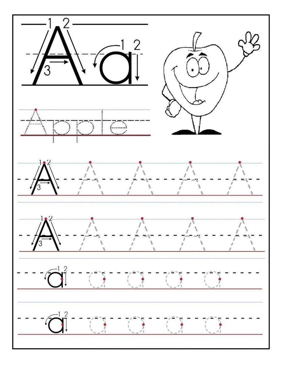 Free Printable Alphabet Writing Worksheets For Kindergarten 7 – Letter  Worksheets