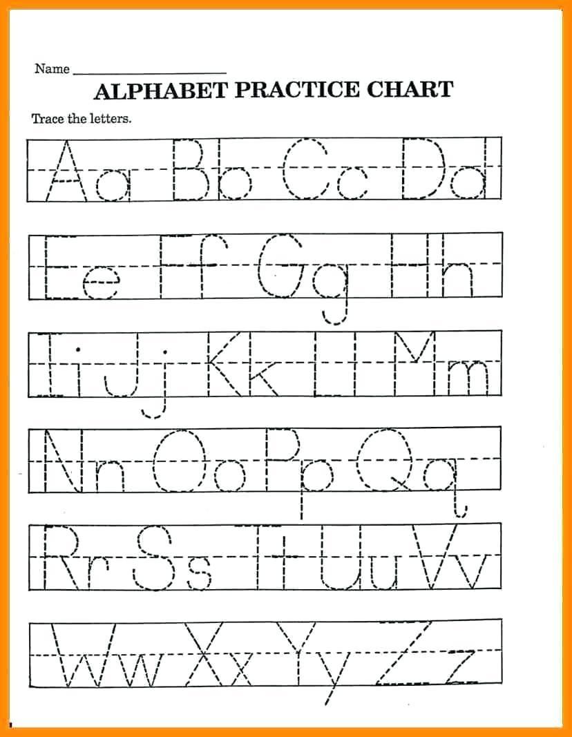 Free Printable Pre K Worksheets Alphabet 8 – Letter Worksheets