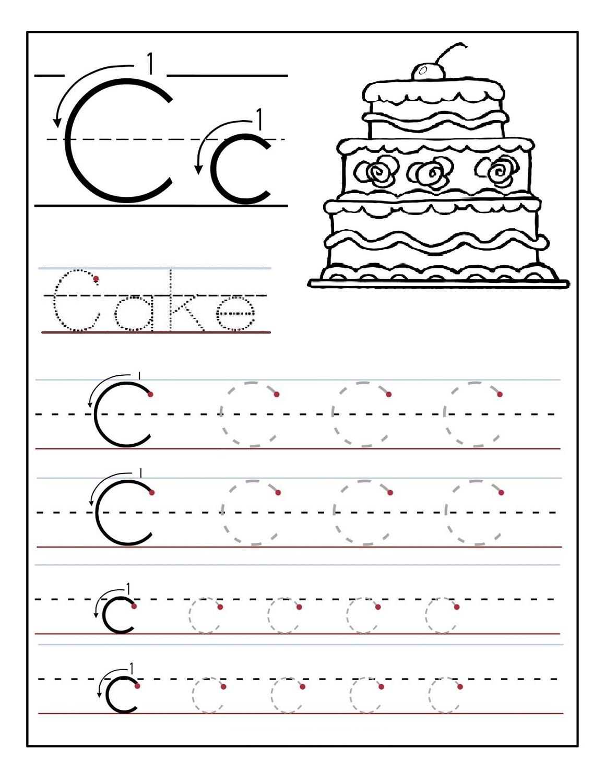 Free Alphabet Tracing Worksheets A Z Letter Worksheets