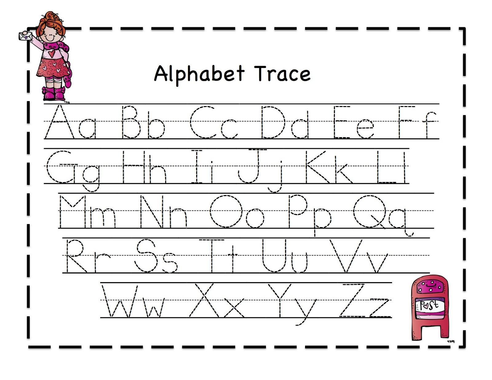 Abc Dotted Line Worksheet 8 Letter Worksheets