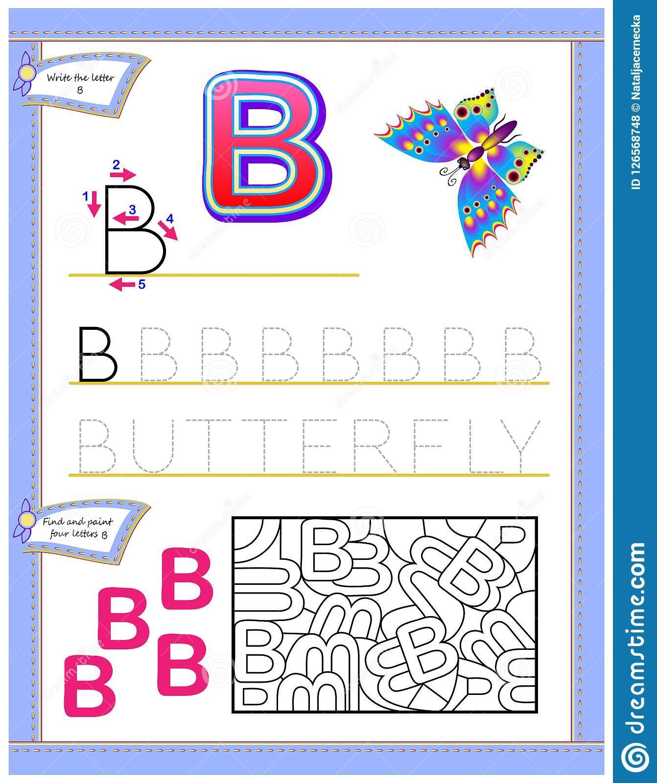 Find The Letter Alphabet Worksheets 4 Letter Worksheets