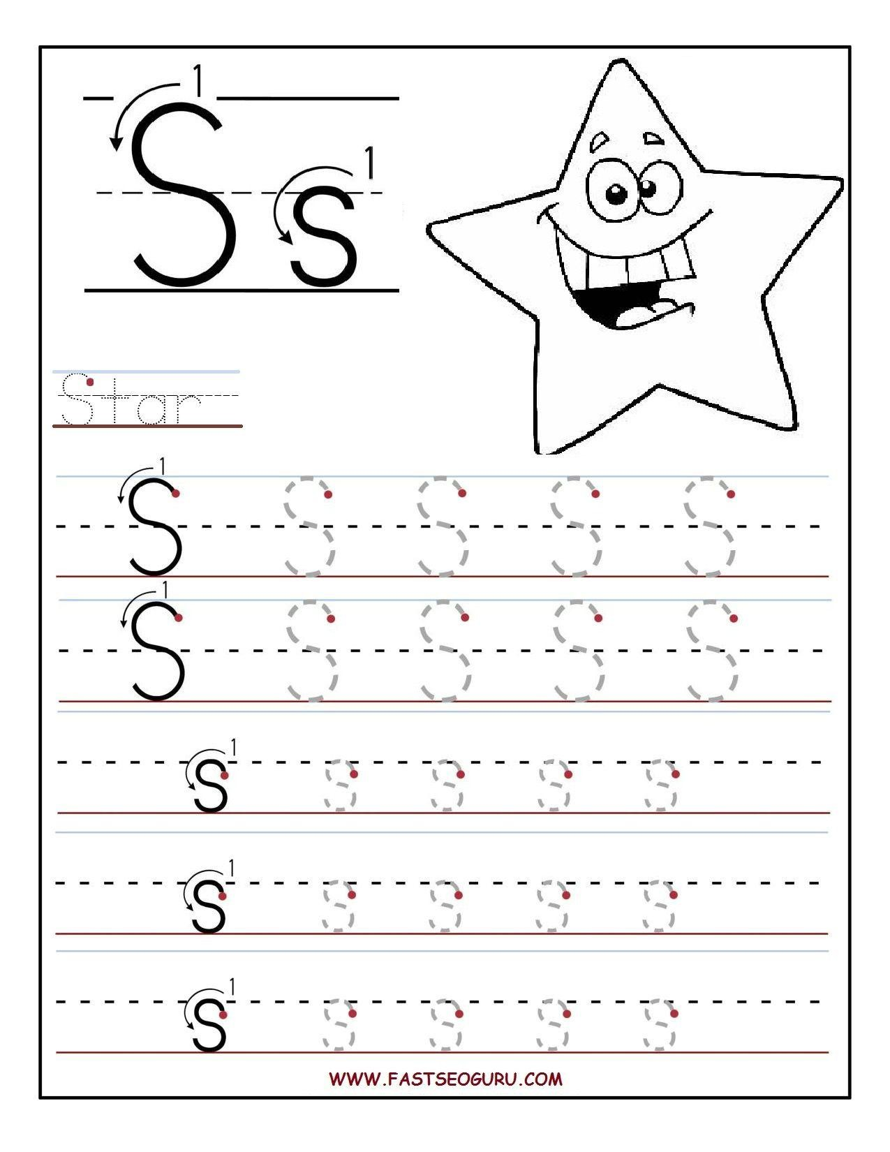 Learn To Write Abc Worksheet 7 Letter Worksheets