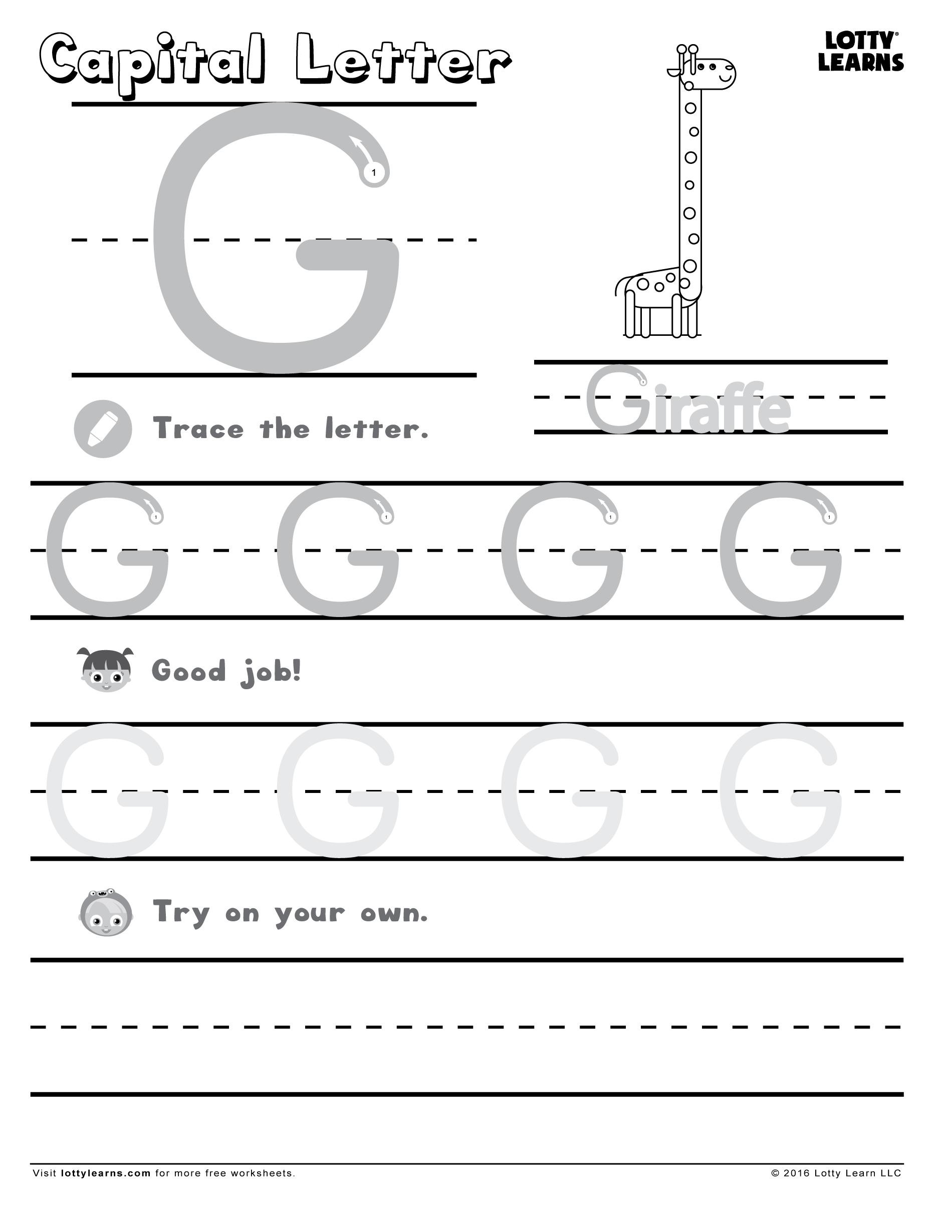 Learning To Write Abc Sheets 1 Letter Worksheets