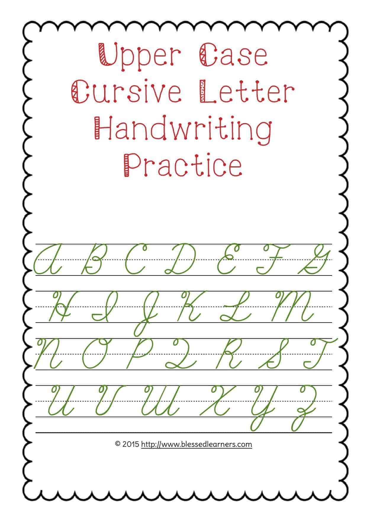 Letter G Handwriting Practice Letter Worksheets