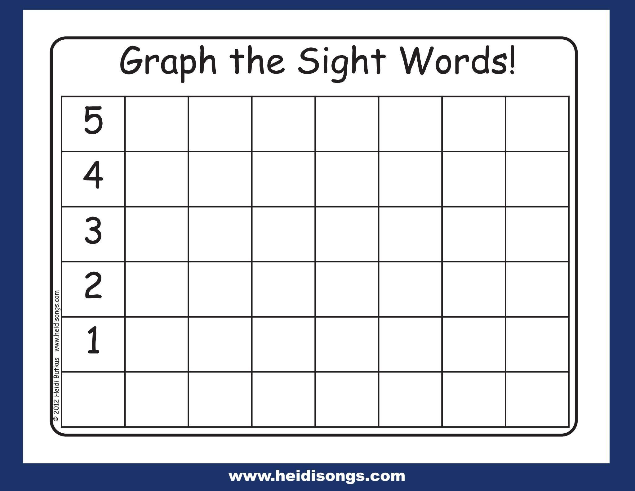 Free Printable Blank Graph Worksheets 5 Letter Worksheets