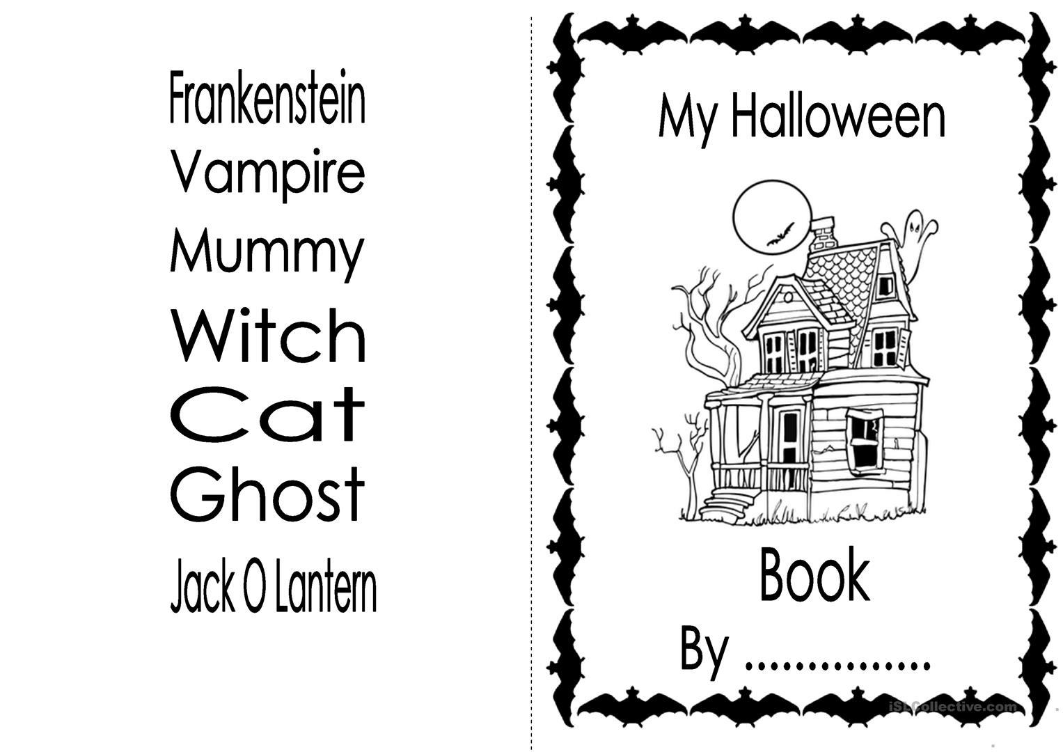 Printable Halloween Reading Comprehension Worksheets 5