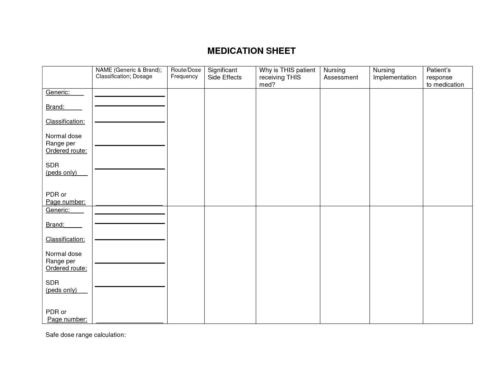 Printable Math Worksheets For Nursing Students 6 Letter