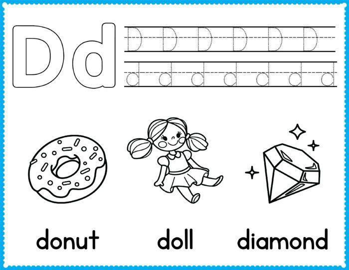 Printable Coloring Pages For Kindergarten Pdf – Letter Worksheets