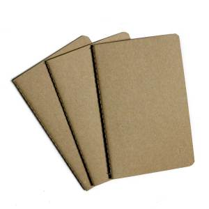 ym sketch notebook journal pocket set of three craft paper lined
