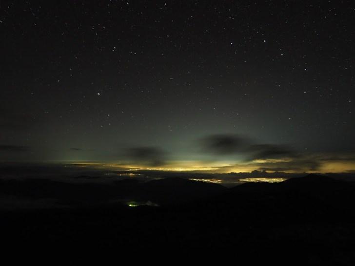 富山の夜景