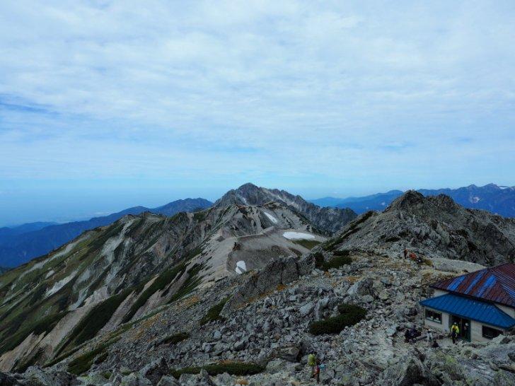 雄山から先の景色