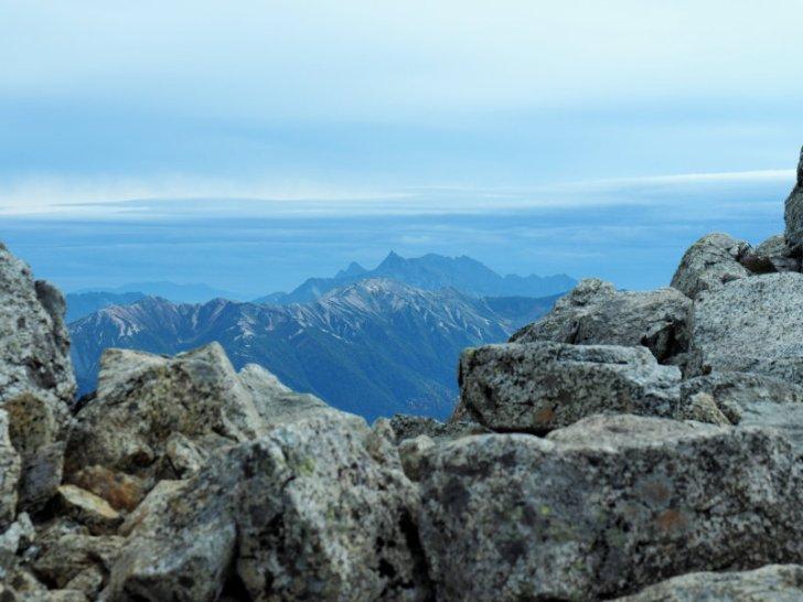 立山から槍ヶ岳