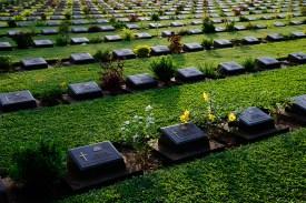 連合軍共同墓地、カンチャナブリー