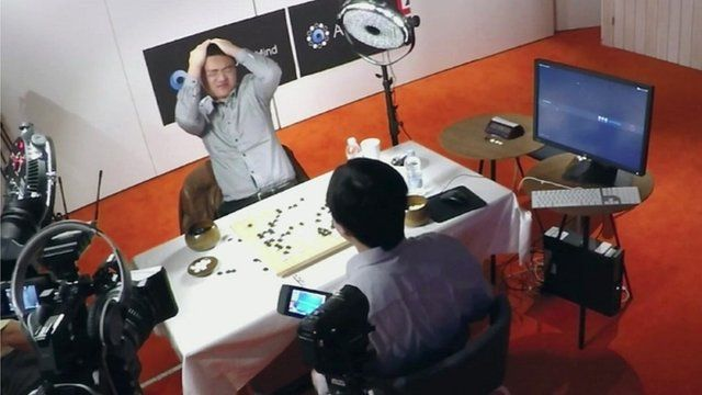 DeepMind defeats human in game of go