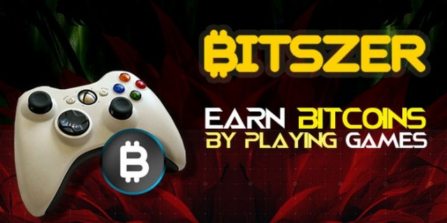 Earn bitcoins by playing games on the Bitszer network