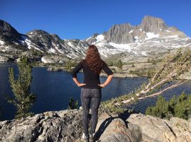 Garnet Lake, Ansel Adams Wilderness, Eastern Sierras, CA