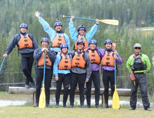 Hydra River Guides, Kicking Horse River, Golden, Canada