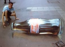 coca cola - 3d